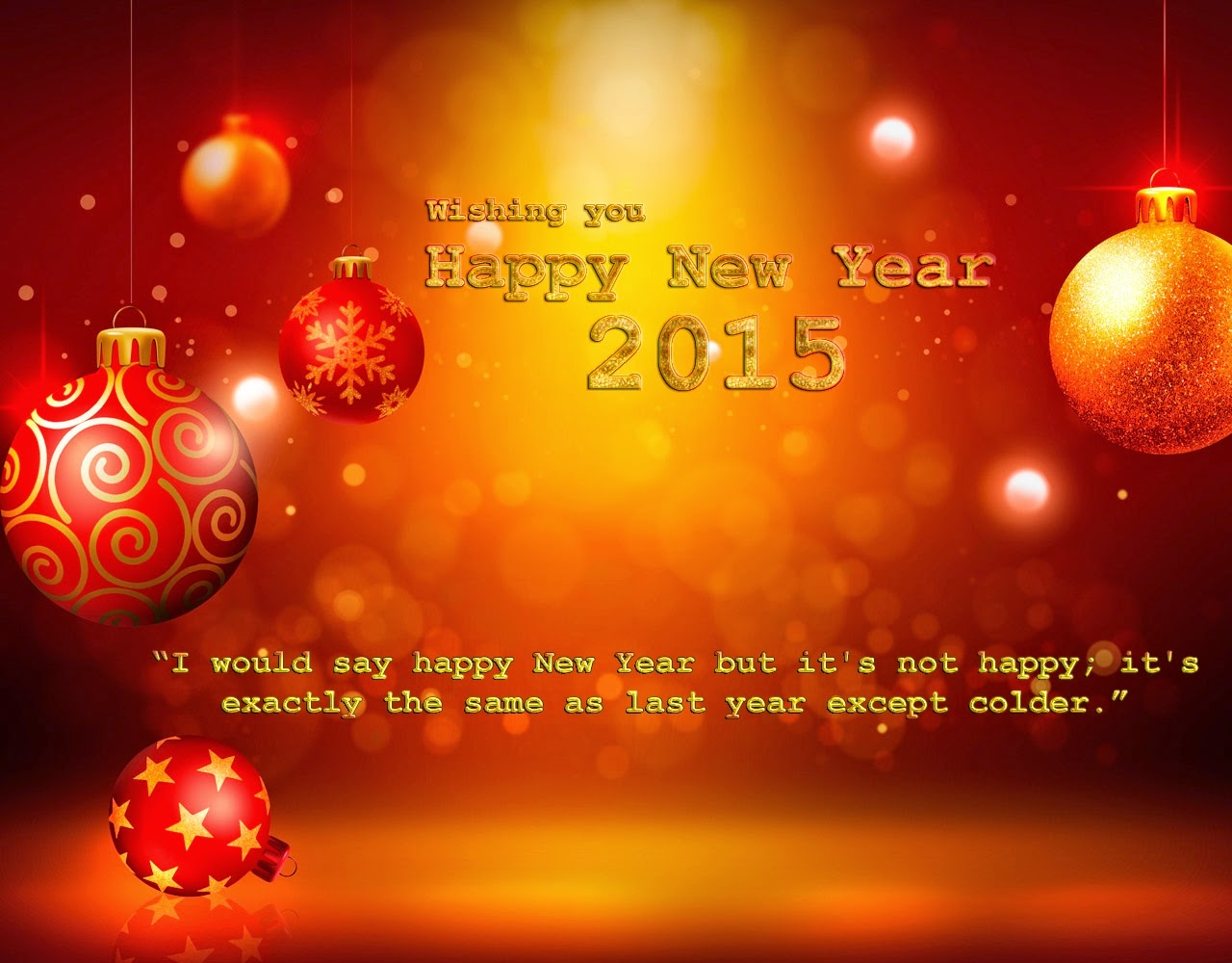 Latest Happy New Year Wishes Greetings Cards 2015