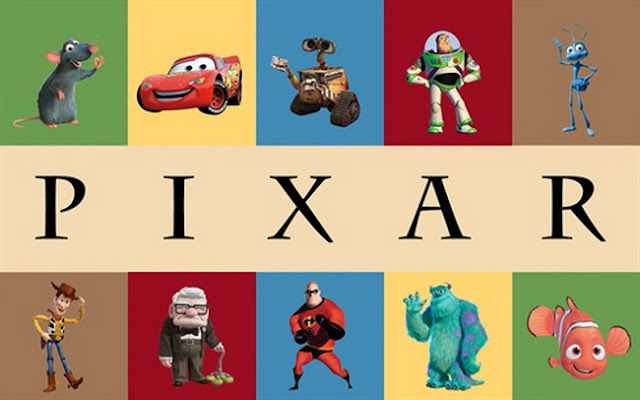 Pixar animated movie photo