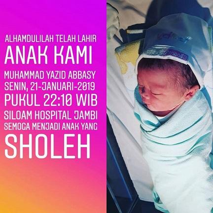Selamat Atas Kelahiran Anak Dari H Ivan Wirata ST MM MT