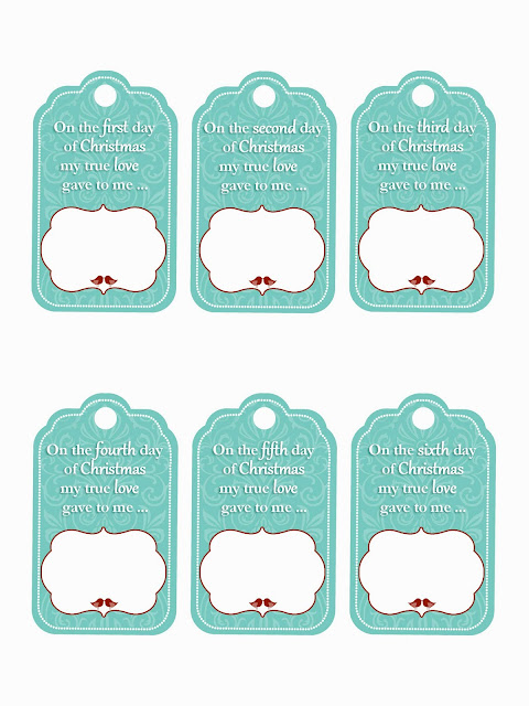 family home fun 12 days of christmas gift tag printables. Black Bedroom Furniture Sets. Home Design Ideas