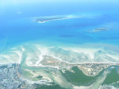 Plane view of Zanzibar by JoseeMM