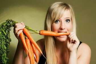 Comer zanahorias