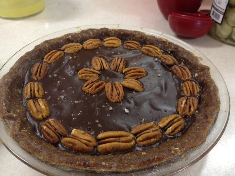caramel chocolate pecan torte salted caramel chocolate pecan torte
