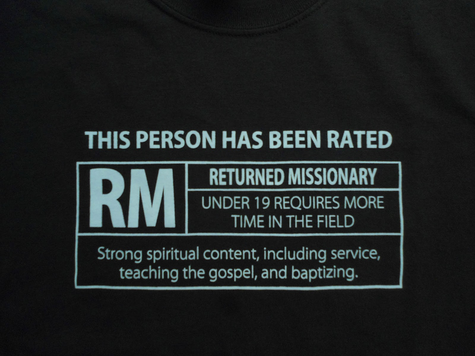 The Cult of the RM and Returning Missionaries