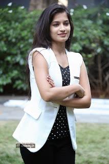 Actress-Anvika-Stills-at-Adi-Lekka-Audio-Success-Meet