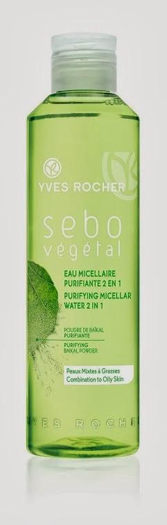 Agua Micelar Purificante Sebo Végétal de Yves Rocher