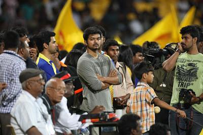 Vijay in CCL Match