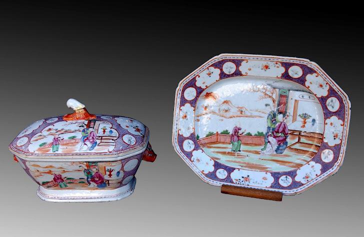 Porcelana Cñía de Indias S.XVIII