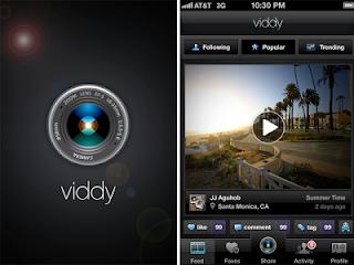 تحميل برنامج فيدي للاندرويد و الايفون مجانا Viddy  لمشاركة و تعديل الفيديو