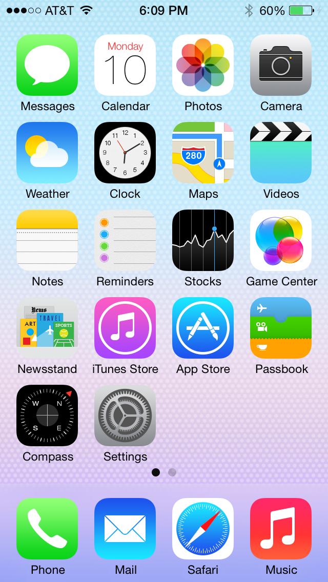 note schermata iphone 7 ita