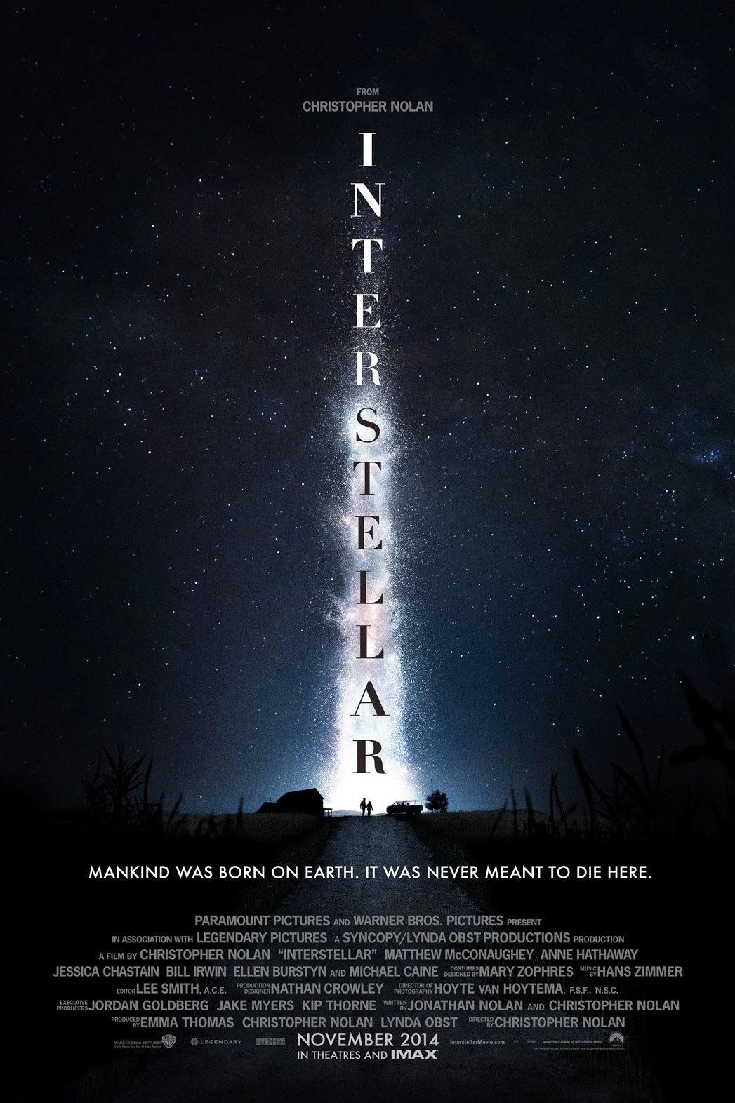 I Migliori Film del 2014 Interstellar