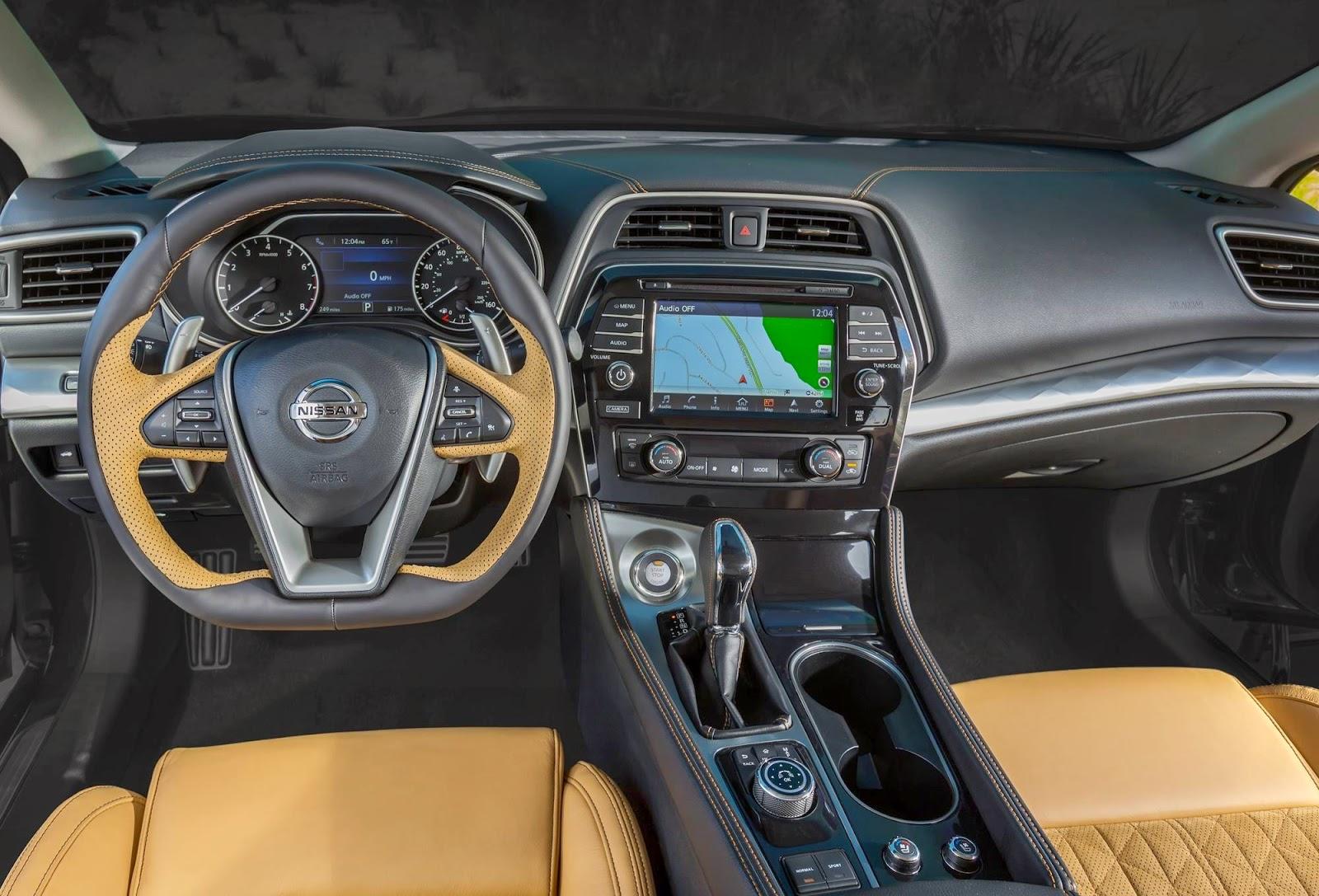 Το εντυπωσιακό Nissan Maxima! Διαβάστε λεπτομέρειες για το νέο μοντέλο της ιαπωνικής φίρμας!