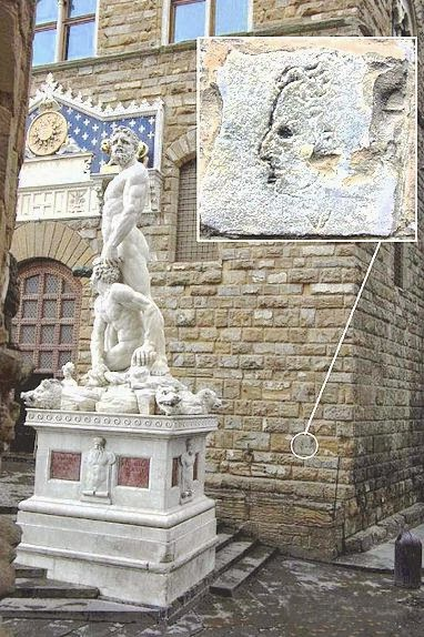 Graffiti by Michelangelo in Florence