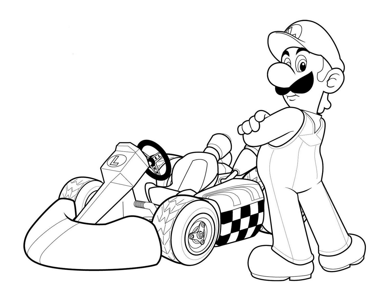Cars guido coloring pages - Luigi Cars Coloring Page Colouring Pages 720x428 Email