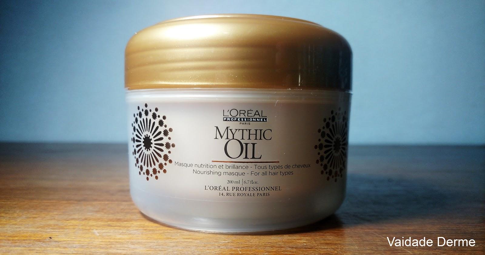 Loreal Profissional Mythic Oil Mascara Creme Nutritivo