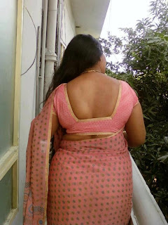 big ass indian aunty saree