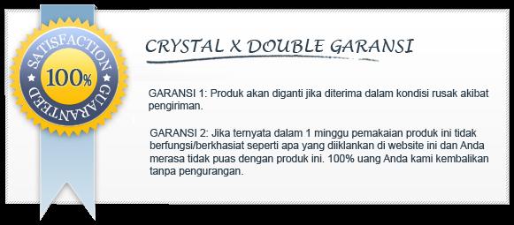 Garansi Crystal X