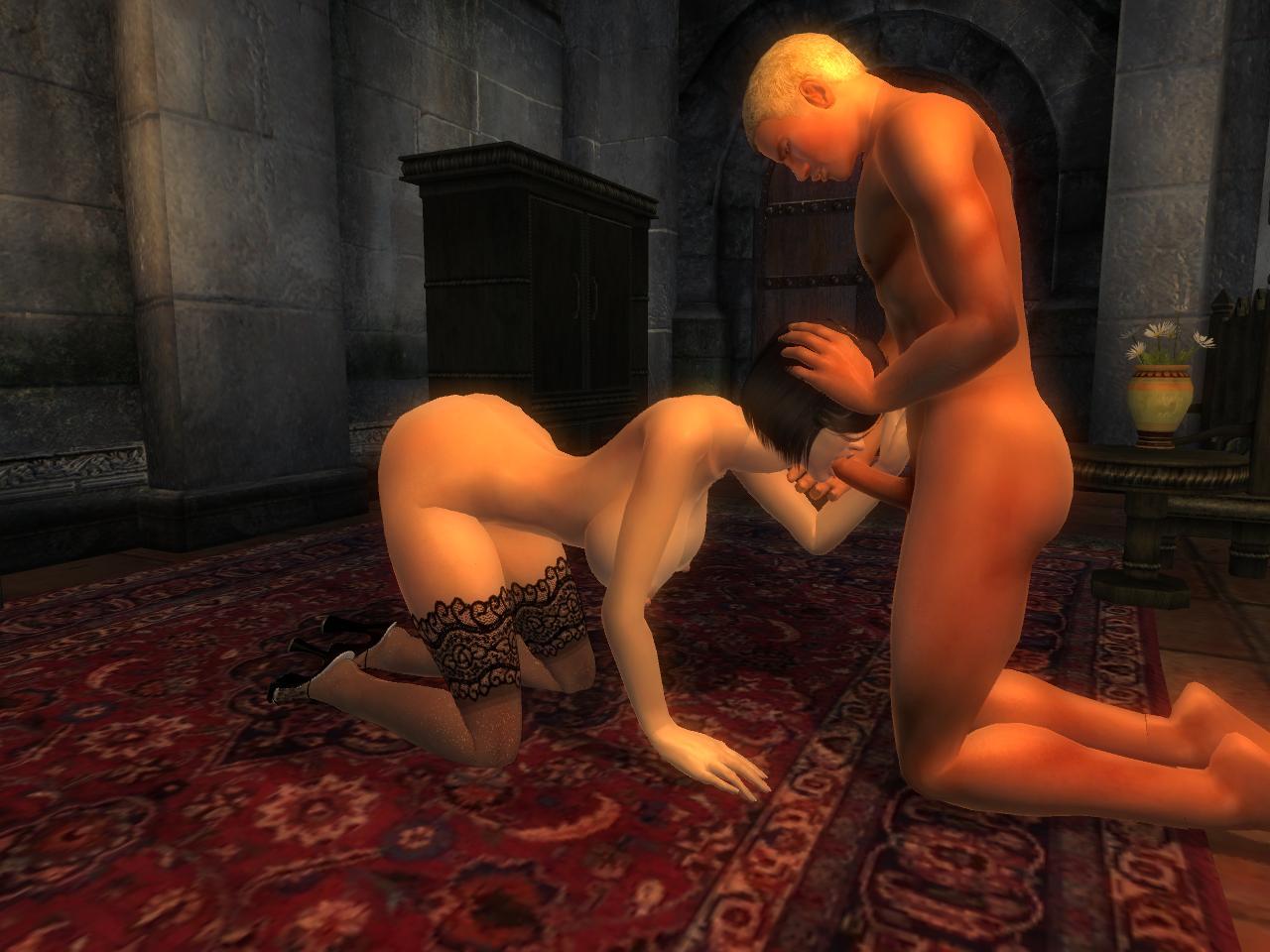 Моды на морровинд рабы и секс