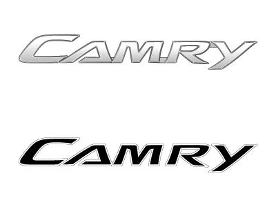 toyota camry vector logo. Black Bedroom Furniture Sets. Home Design Ideas