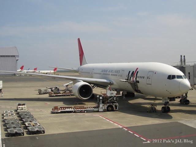ex-JAS 777 (JA007D) at Tokyo Haneda