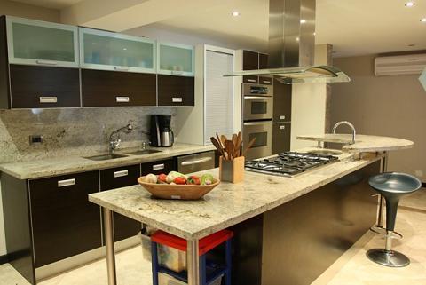 Cocinas empotradas en cemento y ceramica - Imagui