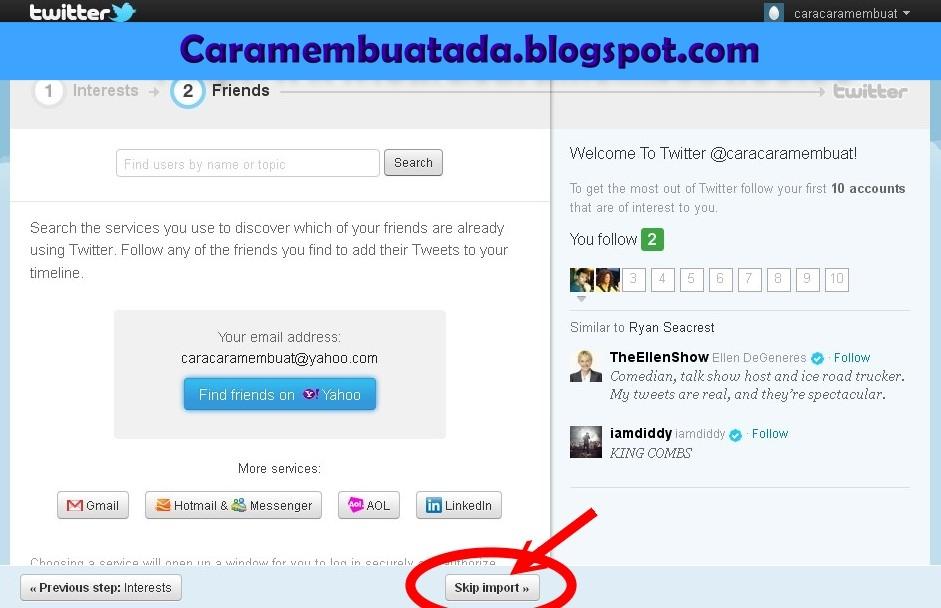 Cara Membuat Twitter | Daftar Twitter Indonesia Baru Gratis