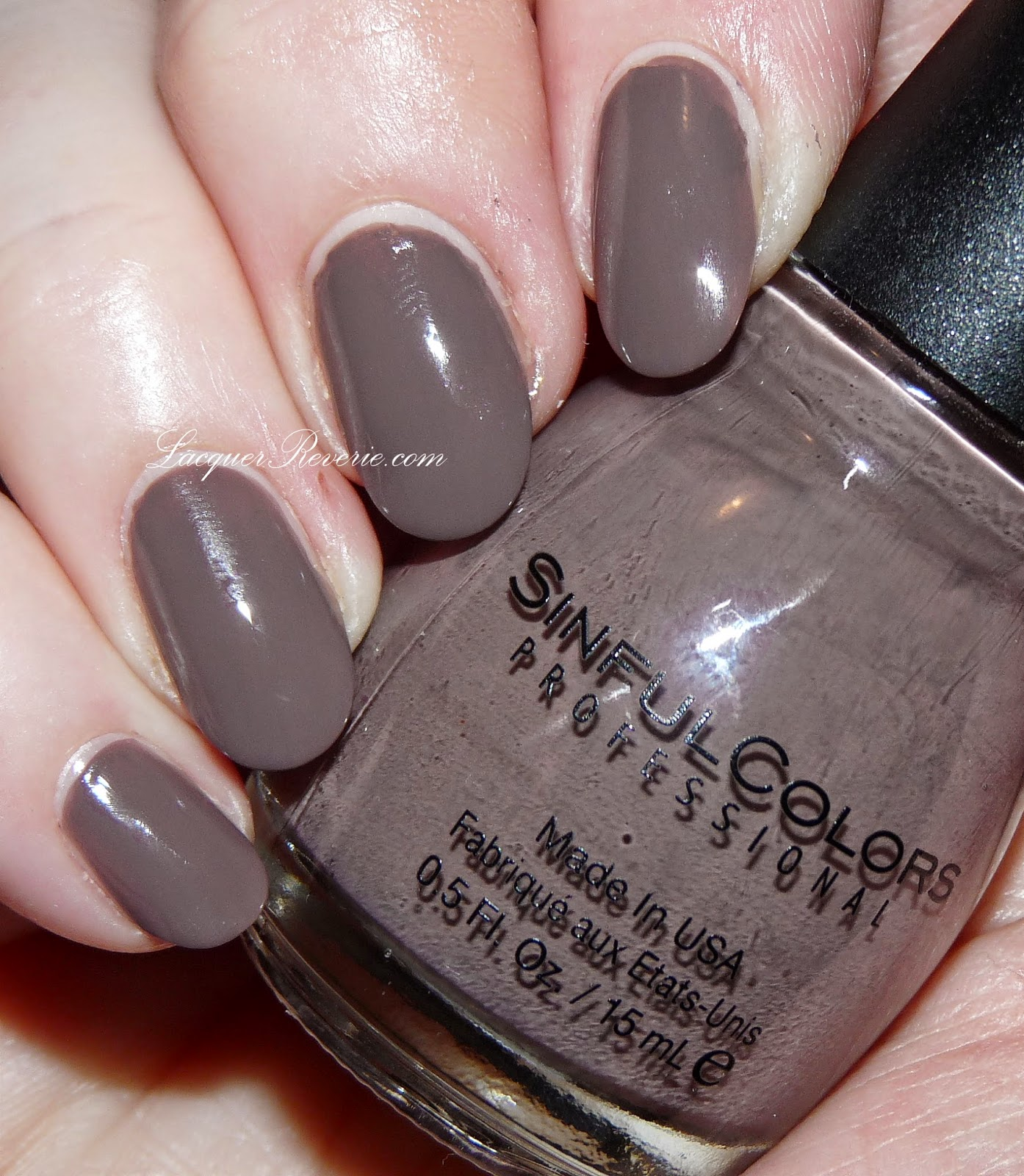 Lacquer reverie november 2014 for What does taupe mean