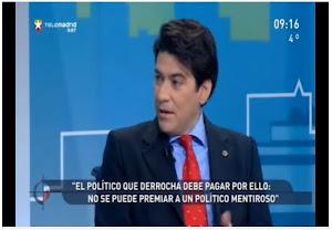 Entrevista en El Círculo de Telemadrid