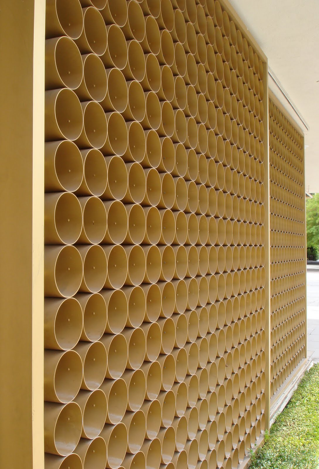 Mid Century Modern Wall Screens and Decorative Screen Blocks ...