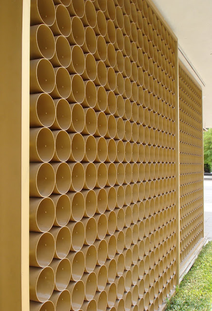 Metal Architectural Screen Wall : Mid century modern wall screens and decorative screen