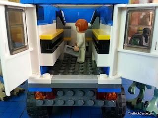 Jurassic World LEGO computers in mobile vet unit
