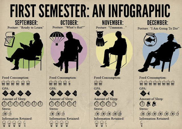 First Semester: An Infographic