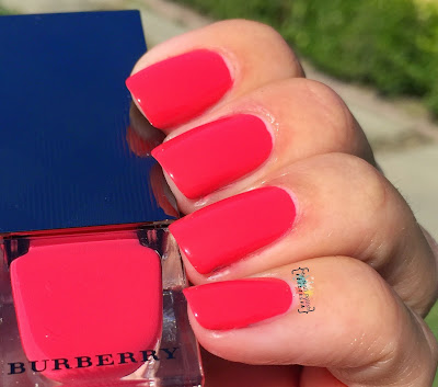 Burberry Bright Coral Red #414