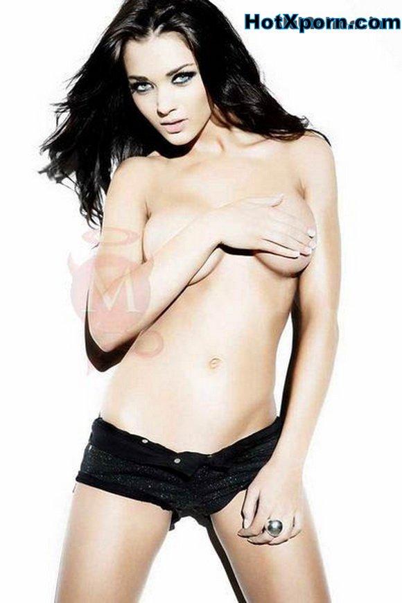 Nude Amy Jackson Hot Topless Photoshoot Exposing Big Boobs
