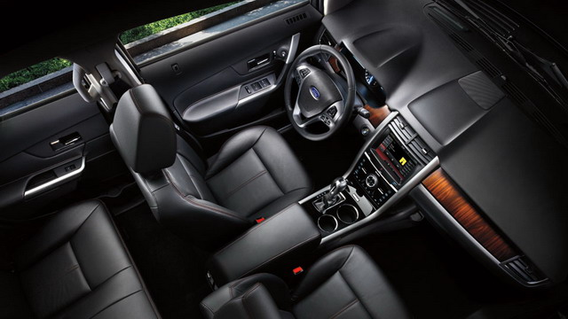 novo Ford Edge 2014 interior
