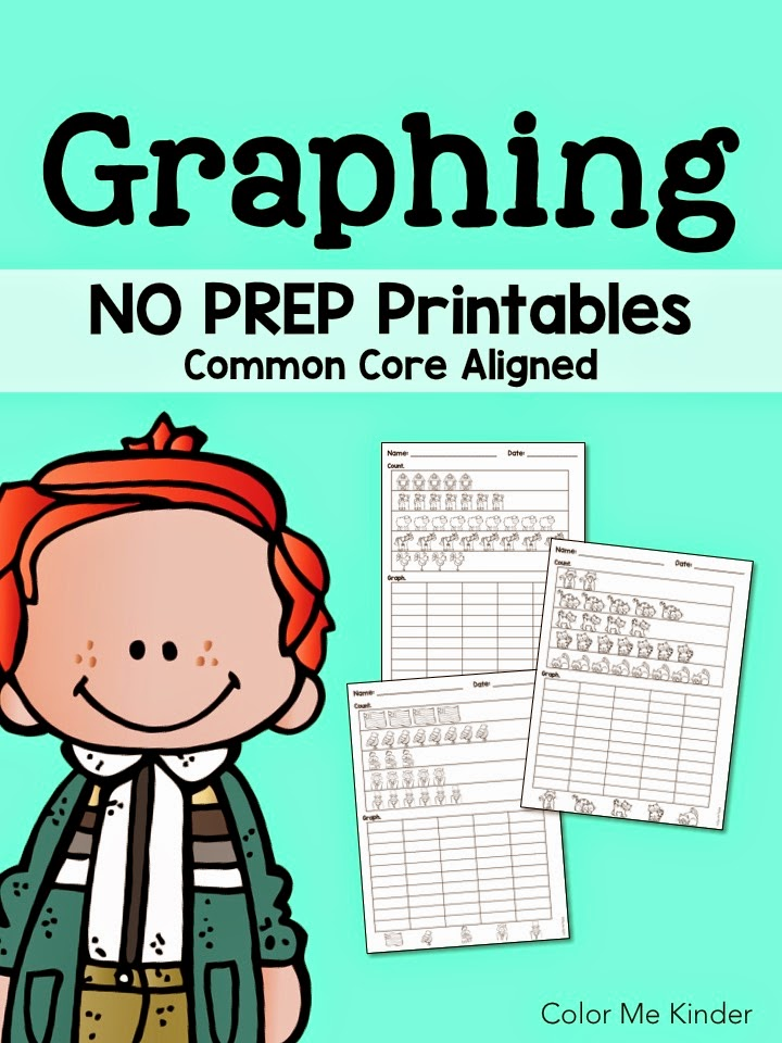 Let\'s Graph! Free Printables! | Color Me Kinder