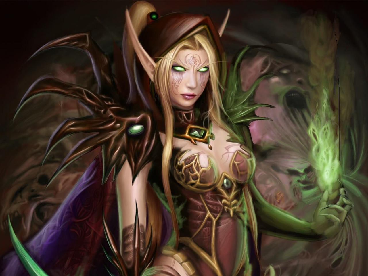 Angela blood elf exposed photo