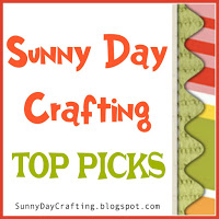 TOP PICKS - SUNNY DAY CRAFTING - CHALLENGE 27 - 13 DEC 2016