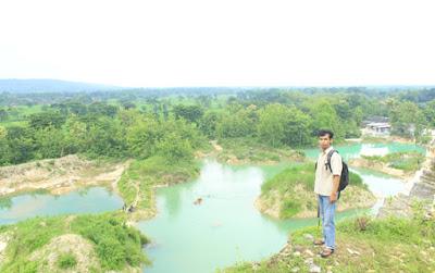 My Trip My Adventure di Telaga Biru Gunungkidul