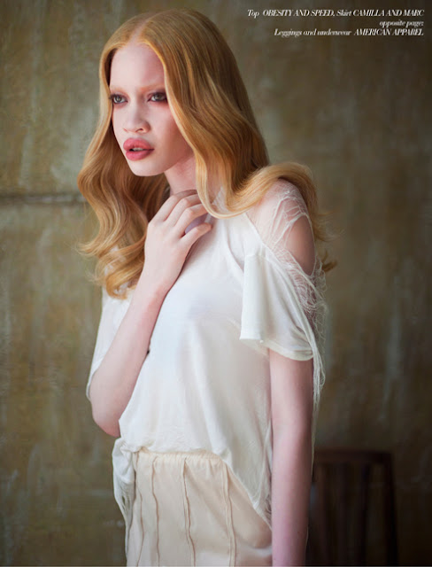 ALBINO MODEL DIANDRA FORREST ROCKS CAKE MAGAZINE ISSUE 4 ...