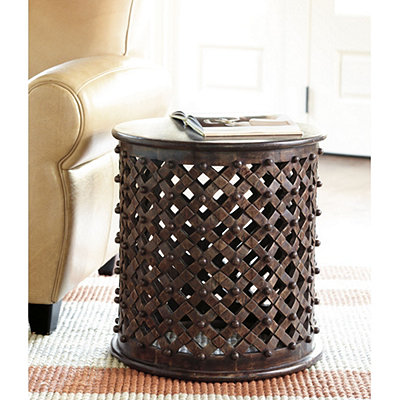 Copy Cat Chic Ballard Designs Bornova Side Table