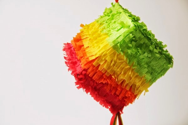 how to make a square shaped pinata