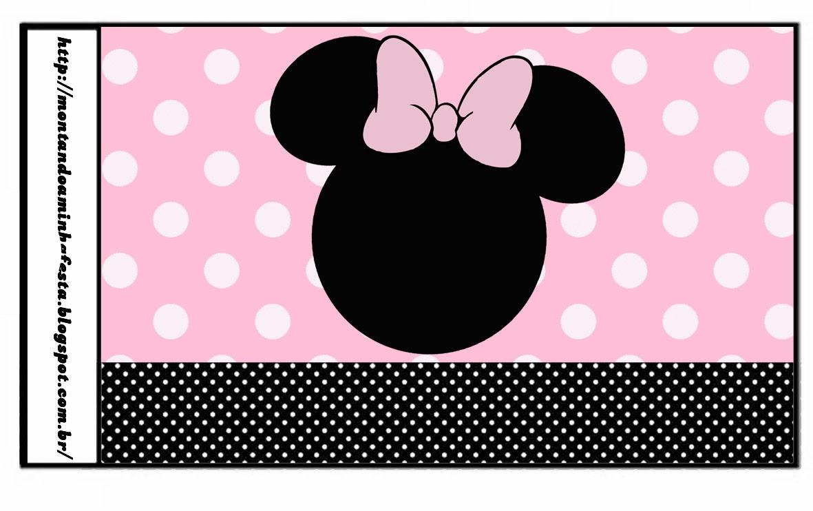 Botellas personalizadas de mickey mouse minnie rosa for Homeplans com reviews
