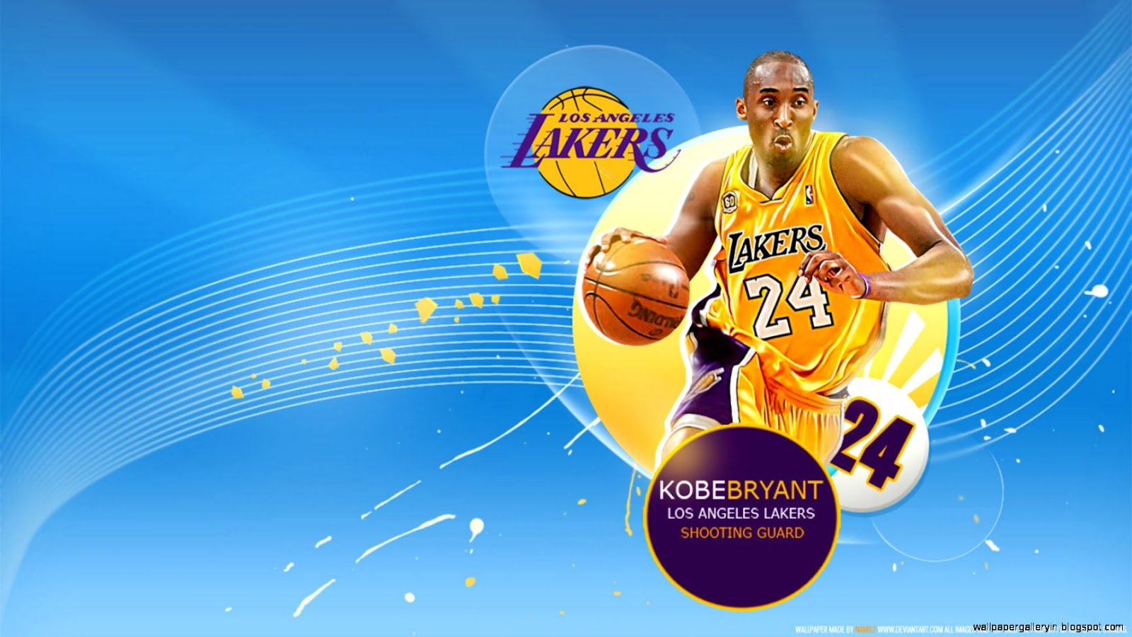 Kobe Bryant Lakers Wallpapers Wallpaper Gallery