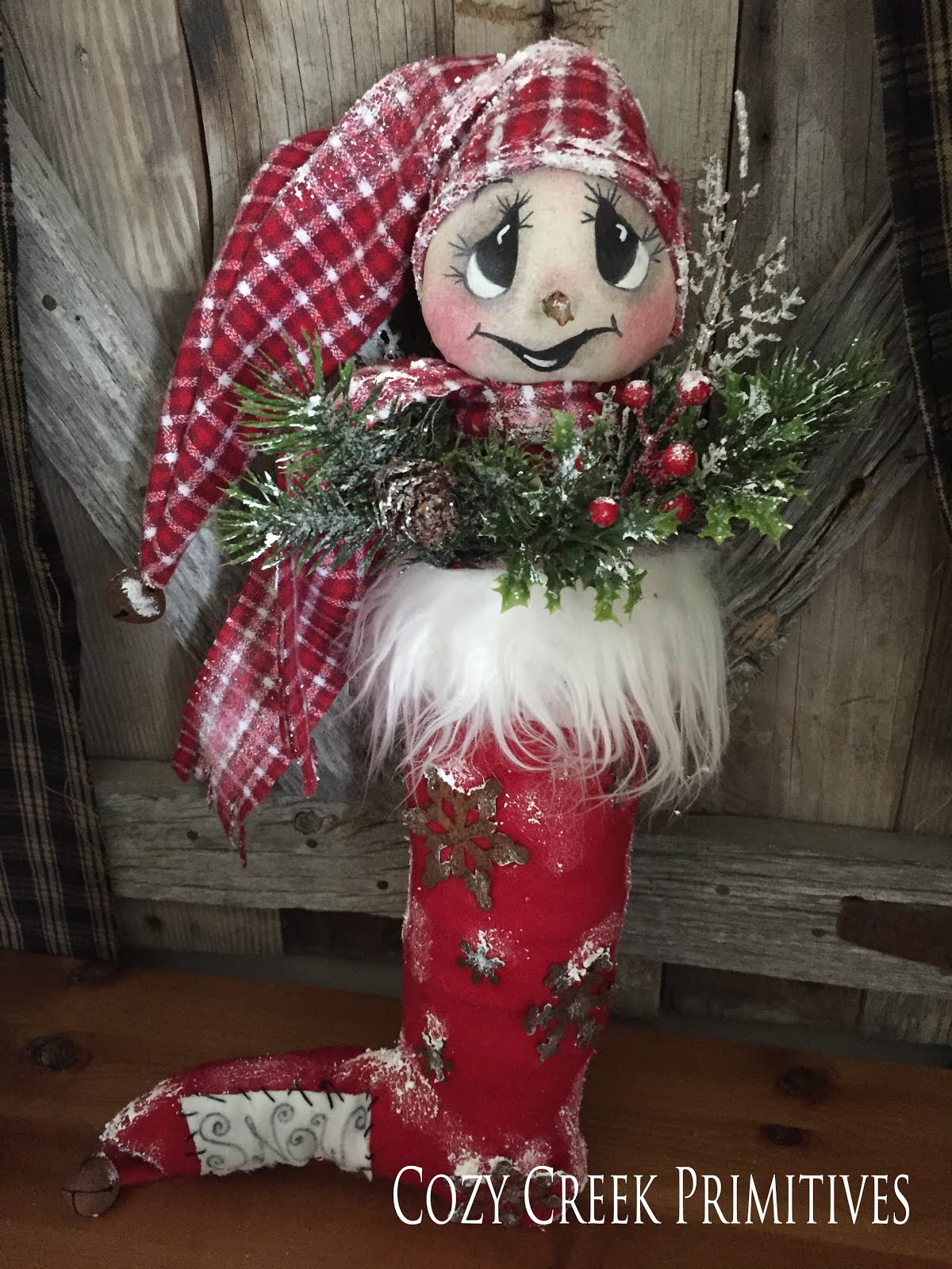 Let It SNOW-Snowman Stocking