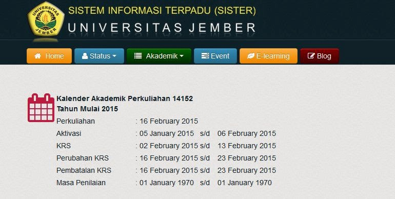 BLOGGER UNEJ UNIVERSITAS JEMBER