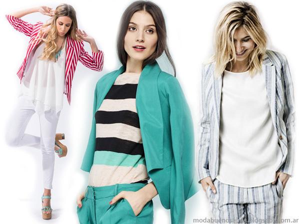 Moda primavera verano 2014: Moda Rayas.