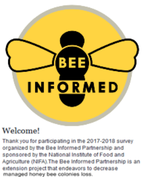Take the National Honey Bee Survey