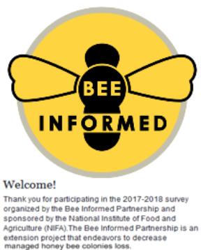 Take the National Honey Bee Survey
