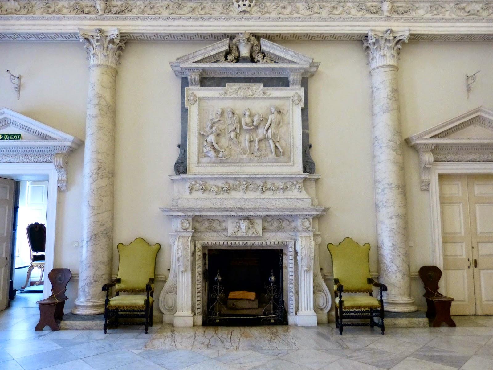 The entrance hall, Clandon Park